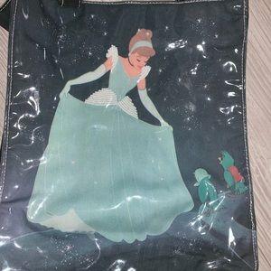 Cinderella plastic front beaded tote bag Disney